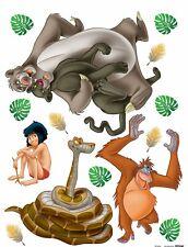 Wandsticker Wandtattoo Sticker Disney Dschungelbuch Mogli Balu 65x85cm %7c DK 1793
