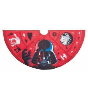 Star Wars Darth Vader Christmas Tree Skirt 48 Inch SW9201