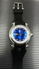 New Oakley Watch Holeshot 3 hand blue dial gmt mm doubletap judge timebomb