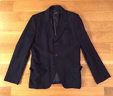 APC A.P.C. Mens Navy Blue Wool Blazer Jacket Size M Medium $795