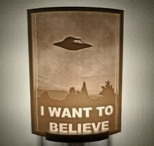 The X-Files: I Want to Believe Lithophane Incandescent Night Light