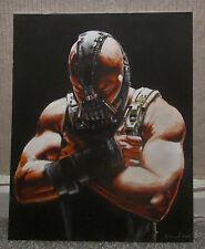 THE DARK KNIGHT RISES   BATMAN    TOM HARDY AS BANE  ORIGINAL ART
