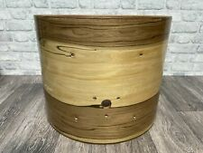 """More details for sonor force 2001 bass drum shell 20""""x16"""" bare wood project / upcycle"""