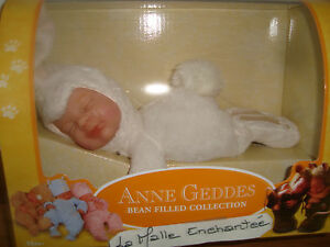 Doll Teddy Anne Geddes Baby Rabbit 20 CM