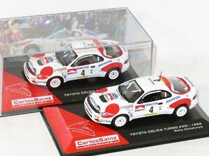 1/43 Toyota Celica Turbo 4wd  Repsol  RACC Rally Catalunya 1992 C.Sainz / L.Moya