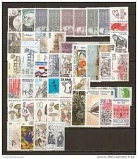 FRANCE - 1987 - année complete ( sauf # 2486 ) - Yvert # 2452/2500 (**)