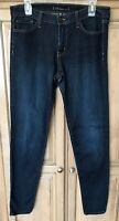 Flying Monkey Platinum Skinny Stretch Jeans Size 31 Dark Wash