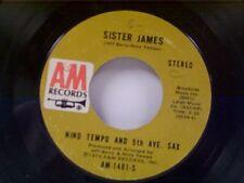 "NINO TEMPO & 5th AVE SAX ""SISTER JAMES / CLAIR DE LUNE (IN JAZZ)"" 45"