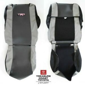 NEW OEM TOYOTA TACOMA 2005-2008 TRD SEAT COVERS MODELS WITH SPORT SEATS