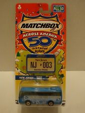 Matchbox Across America 50th Birthday Series New Jersey Ikarus Coach C25-40