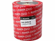 500-PK 16X RiDATA Logo DVD-R DVDR Blank Storage Media Disc 4.7GB 120Min
