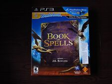 Brand New Wonderbook Book of Spells (PS3, 2012) Harry Potter No Move Controller