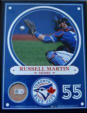 STEINER RUSSELL MARTIN TORONTO BLUE JAYS PLAYER PROFILE PIECE - SALE
