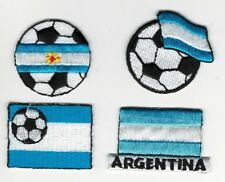 Soccer Ball La Argentina Flag fútbol Embroidery Patch