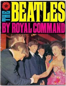 The Beatles By Royal Command Early B&W Photographs of the Fab Four 1963