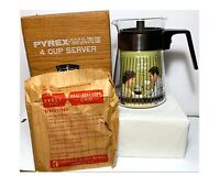 Pyrex Ware Coffee Pot Carafe 4 Cup Server New In Box NOS
