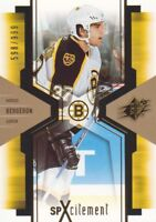 2006-07 SPx SPxcitement Hockey Cards Pick From List