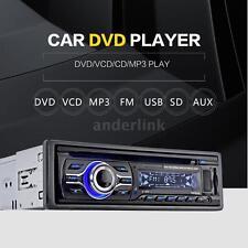 Universal Car CD DVD VCD MP3 Player Stereo Radio FM Aux Input SD/USB Port US