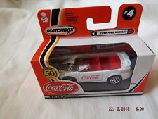 MATCHBOX  MADE IN CHINA  COCA COLA1999 FORD MUSTANG #4