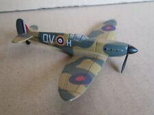 2837 11/12ft Del Prado Supermarine Spitfire II Qv H R6776 Aircraft WWII 1:87