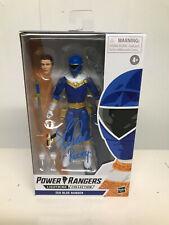 Power Rangers Lightning Collection Blue Zeo Ranger Signed by Steve Cardenas