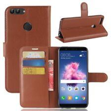 Portefeuille de poche Premium Marron pour Huawei Appréciez 7S/P Smart