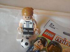 Lego minifigures German footballer Kroos # 18 team DFB 71014 mini figure rare
