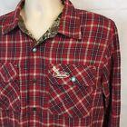 Buck Commander Reversible Red Plaid REALTREE Max-1 Camo Shirt Jacket Medium