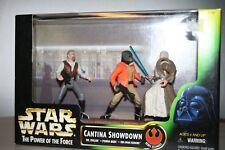 Kenner Star Wars Cantina Showdown 3 Figure Set Nib