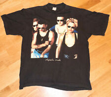 *1980's DEPECHE MODE* vintage rock new-wave concert tee t-shirt (XL) 1990 TOUR