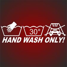 HAND WASH ONLY Style Aufkleber Sticker Spielkarte Sticker Bomb Shocker  Army F