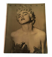 MADONNA Who's That Girl 1987 JAPAN CONCERT TOUR PROGRAM BOOK