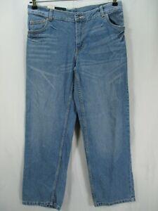 Faded Glory Kids Size 12H Husky Jeans Straight Light Blue 33x26