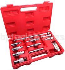 11PC Master Auto Service Tool Set Sockets 4 Spark Plug & Glow Plug Oxygen Sensor