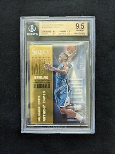 2012-13 Panini In Flight Selection Select #2 Anthony Davis RC Rookie BGS 9.5