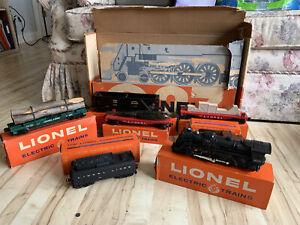 Lionel Trains Postwar 1635WS O27 Train Set, Boxes, Set box.