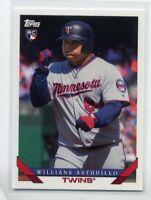 1993 Topps #251 WILLIANS ASTUDILLO Rookie Card RC MINNESOTA TWINS 2019 Archives