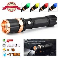 Tactique police 10000lumen XM-L T6 LED 3MODES Lampe torche aluminium Torche