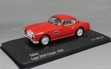 Whitebox Talbot Lago 2500 Coupe in Red 1955 WB086 1/43 NEW Ltd Ed 1000