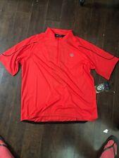 NEW CANARI Men Radar Red Quest Biking Cycling Racing Shirt Ridge Jersey Size XXL