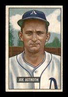 1951 Bowman Set Break # 298 Joe Astroth EX-MINT *OBGcards*