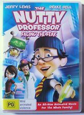 THE NUTTY PROFESSOR ANIMATION CARTOON DVD FACING THE FEAR Jerry Lewis