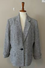 4275 Collections for Le Suit Women 18 Blazer Lining Work Classic Gray