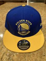 Golden State Warriors Logo New Era 9Fifty Snapback Hat New Made In USA