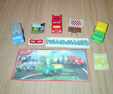 SMALL TRUCKS COMPLETE SET WITH ALL PAPERS KINDER SURPRISE 2017/2018