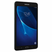 "NEW SAMSUNG GALAXY TAB A SM-T280N 8GB Wi-Fi 7"" BLACK SM-T280 GPS NOOK TABLET"