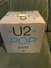 "Original U2 Pop 3/4/97 Record Store 12"" Cube Promo Mobile Hanging"