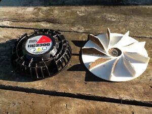 Komatsu Redmax HB2300 handheld blower fan