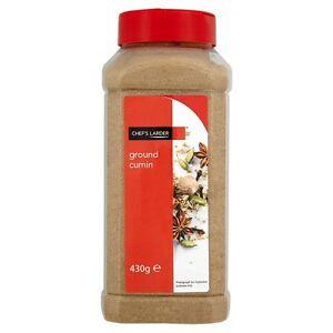 Chef's Larder Ground Cumin 430g Single Jar