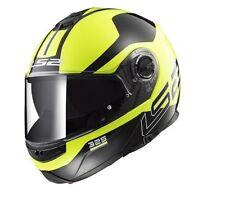 LS2 FF325 Strobe Zone Hi Vis Modular flip up Motorcycle/Motorbike helmet